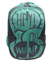 Skybags Dark Green Backpack