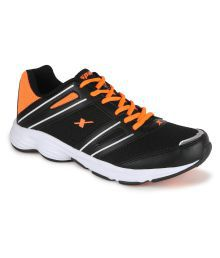 Sparx Sm-9027 Black Running Shoes