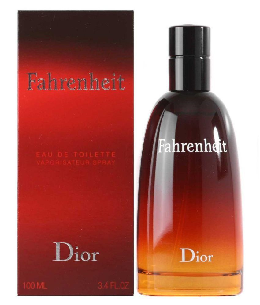Christian Dior Fahrenheit Edt 100ml at snapdeal