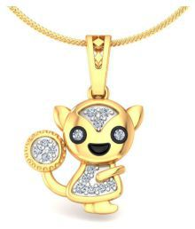 Ornashine Golden Pendant