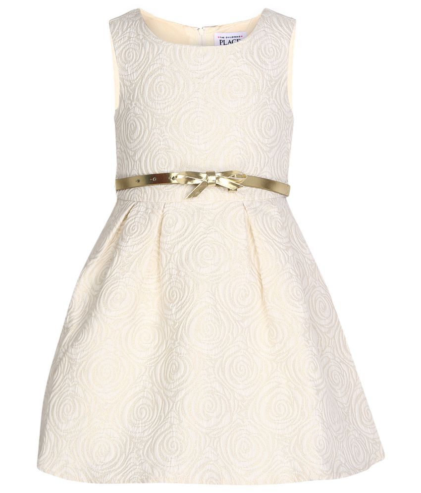The Children's Place White Frocks & Dresses at snapdeal