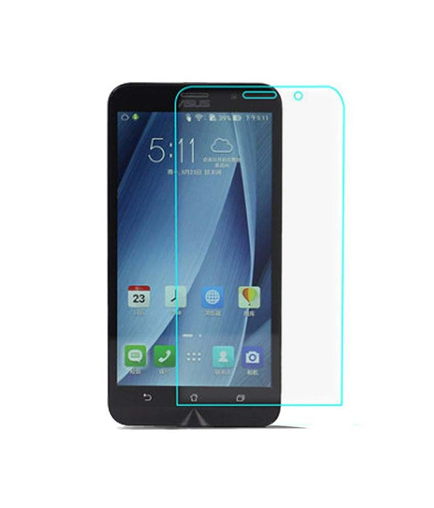 Asus Zenfone 6 Tempered Glass Screen Guard By Okura  available at snapdeal for Rs.222