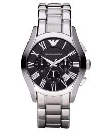 Emporio Armani Black Chronograp Watch