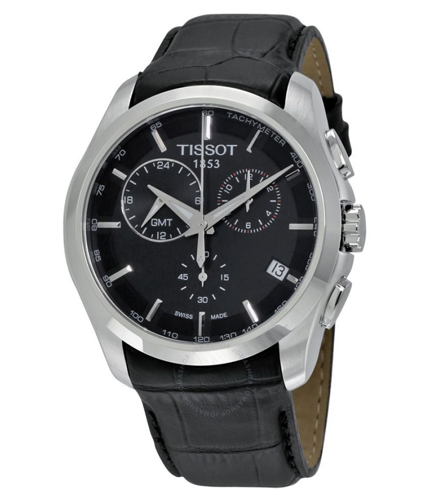 Image of Tissot Black Analog Watch For Men