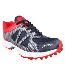 Port Enclove Multi Color Cricket Shoes