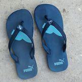 cb3d46e0b87c Puma Atlanta Blue Slippers Price in India- Buy Puma Atlanta Blue ...
