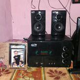39503c458ab Buy Oscar Osc-4500En 4.1 Speaker System With Bluetooth And Vfd ...