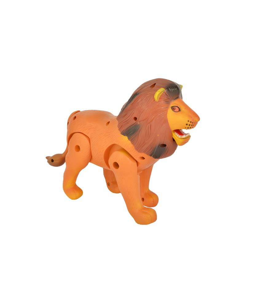 Zest4Toyz Battery Operated Funny Lion Robot With Light And Sound