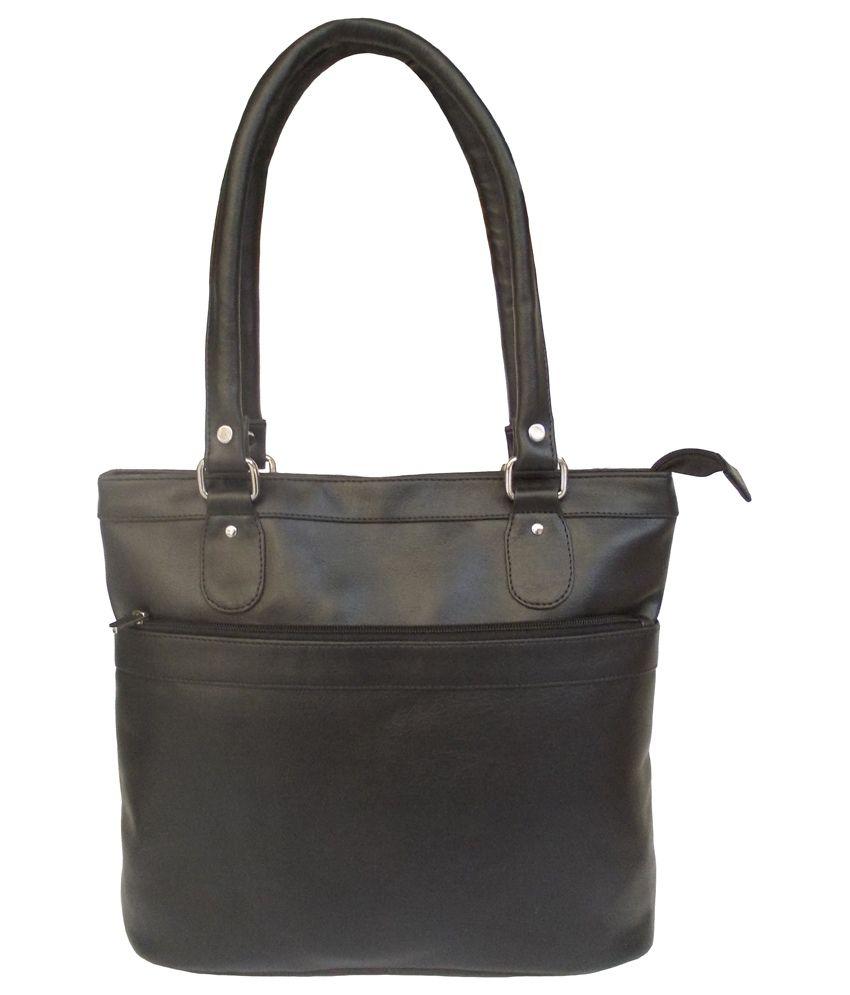 Feliza Black Shoulder Bag