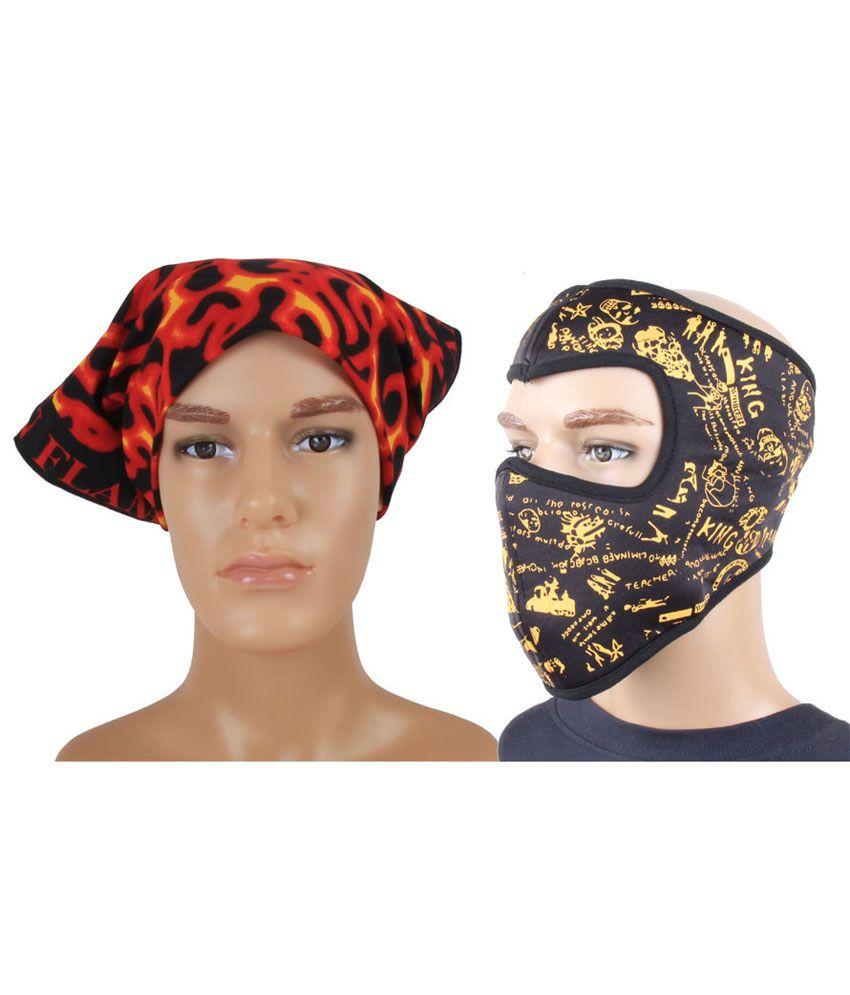 how to make a ninja head wrap