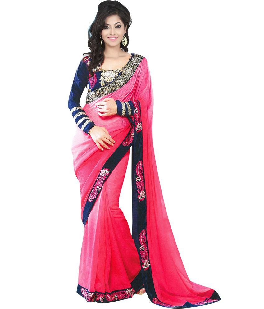 Designer Saree - Buy D...