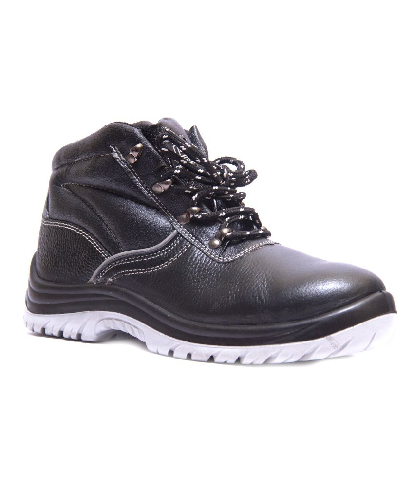Buy Hillson Alien Black Safety Shoes Online At Low Price In India - Snapdeal