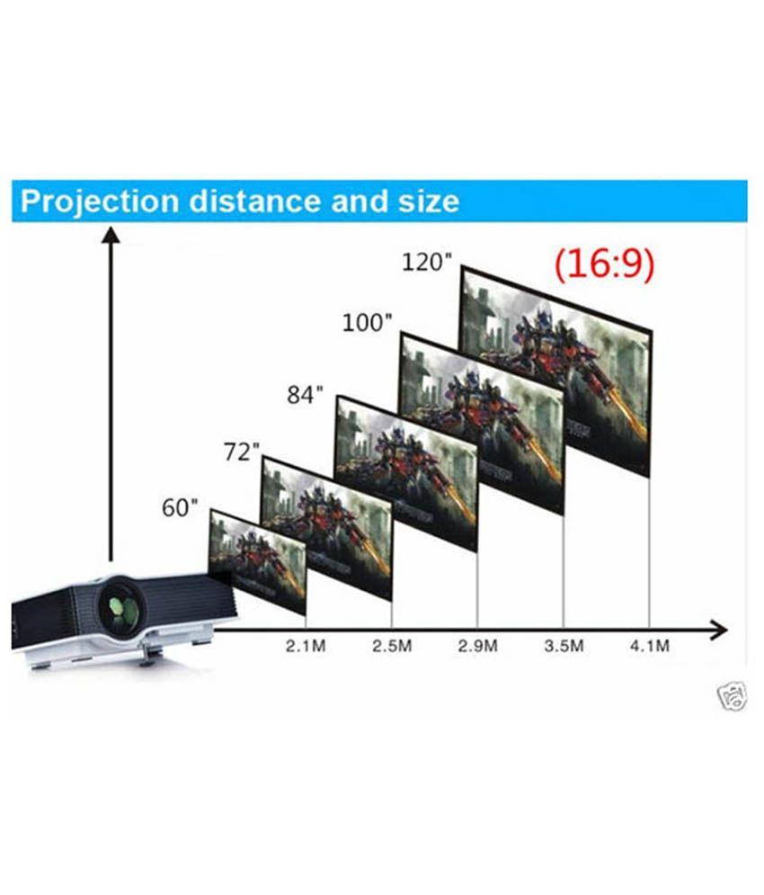 Buy Smart Products Uc40 800 Lumens Screen Projector Online
