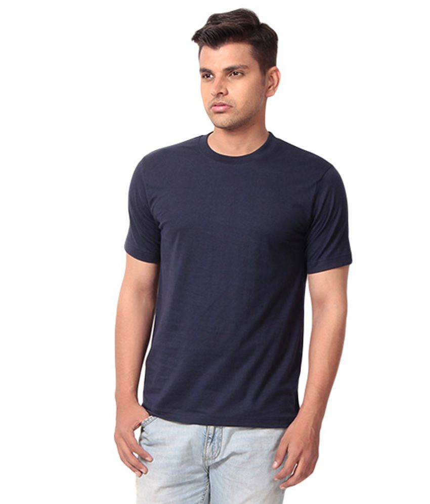 G Twins Blue Cotton T Shirt