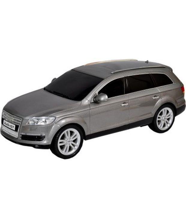 Mera Toy Shop Audi Q7 1:12 Scale Remote Control Car Grey