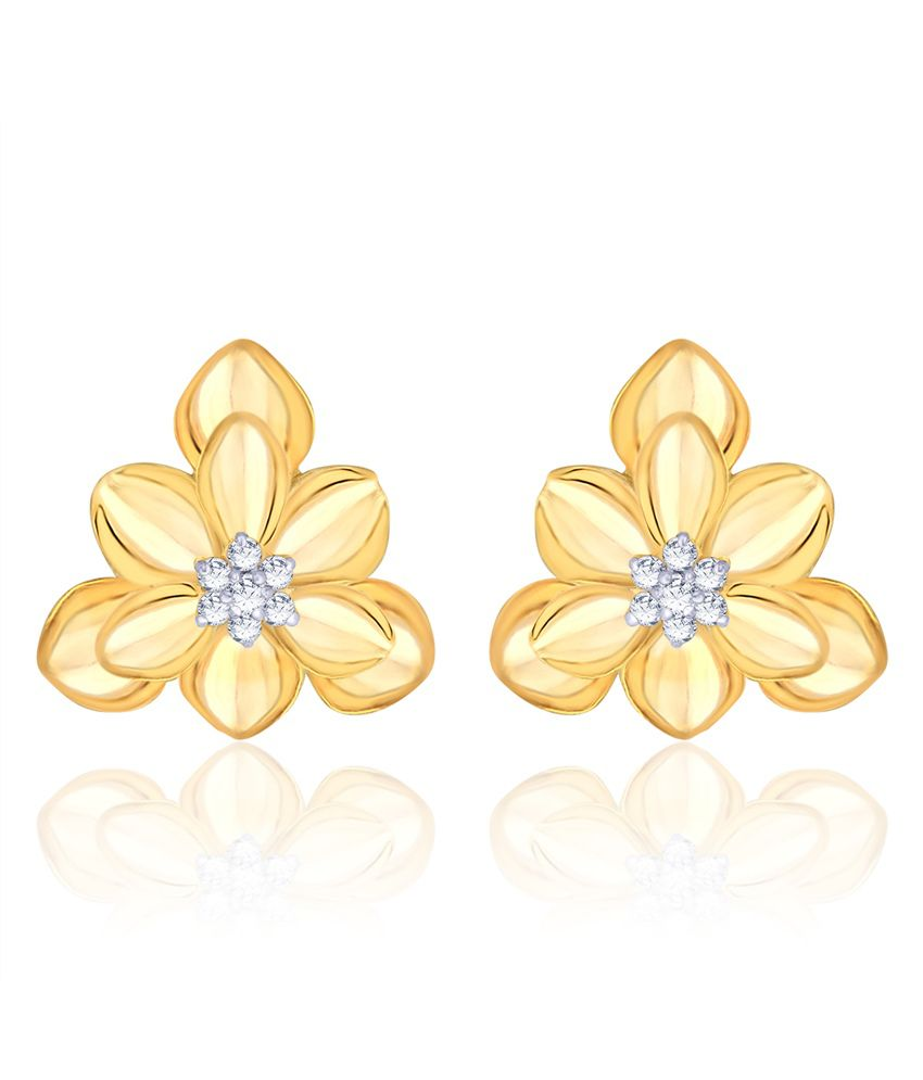 Diti Gold Traditional Style Earring