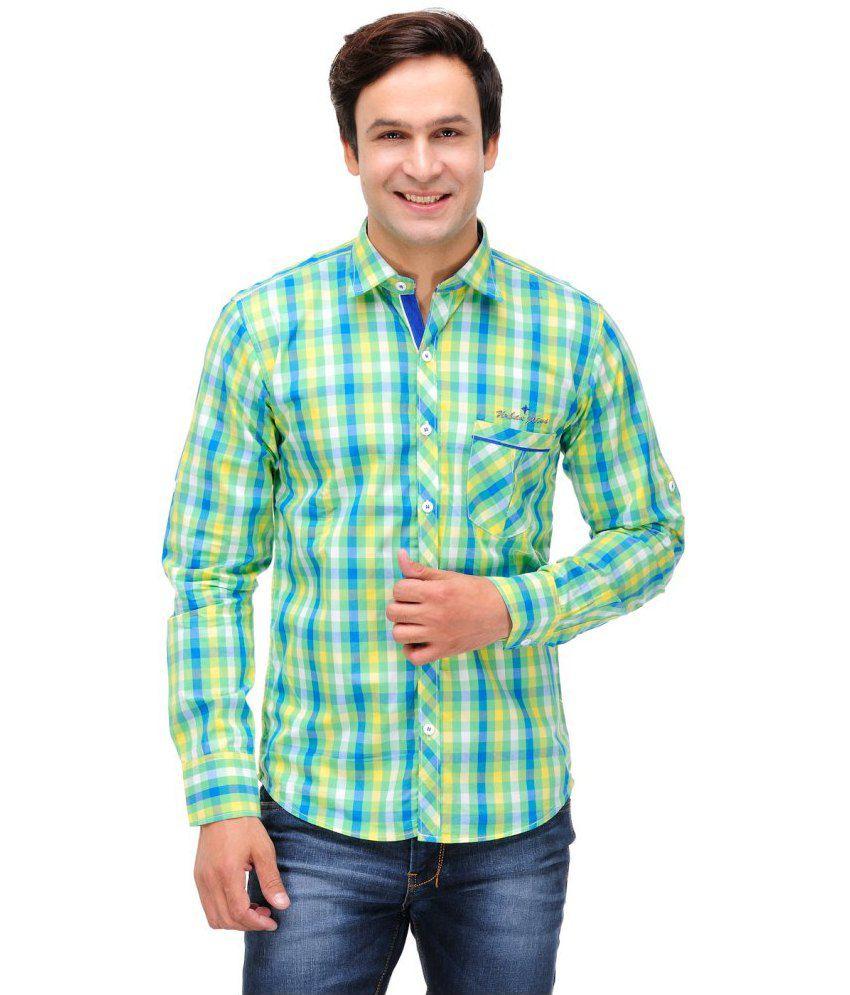 Nexq Multicolour Casuals Shirt