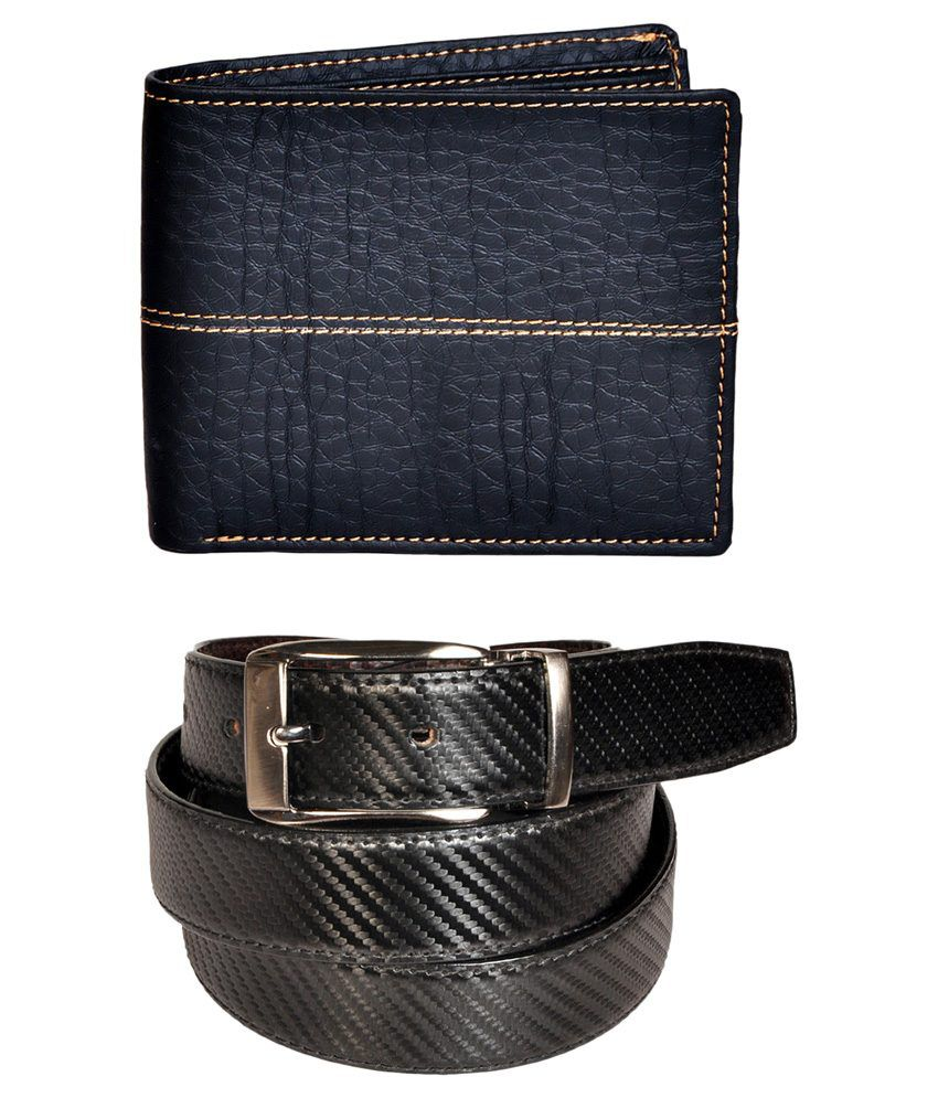 Style Ambience Black Non Leather Casual Belt