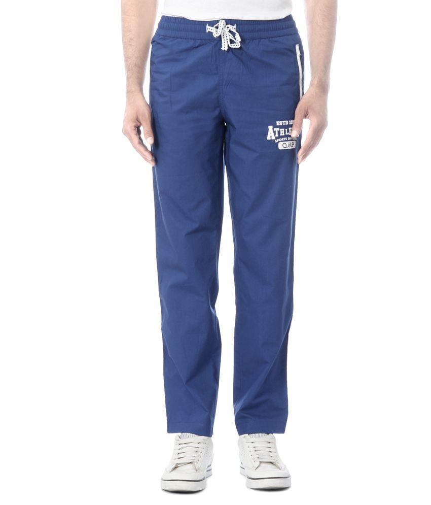 Ajile by Pantaloons Blue Data Surf Track Pants