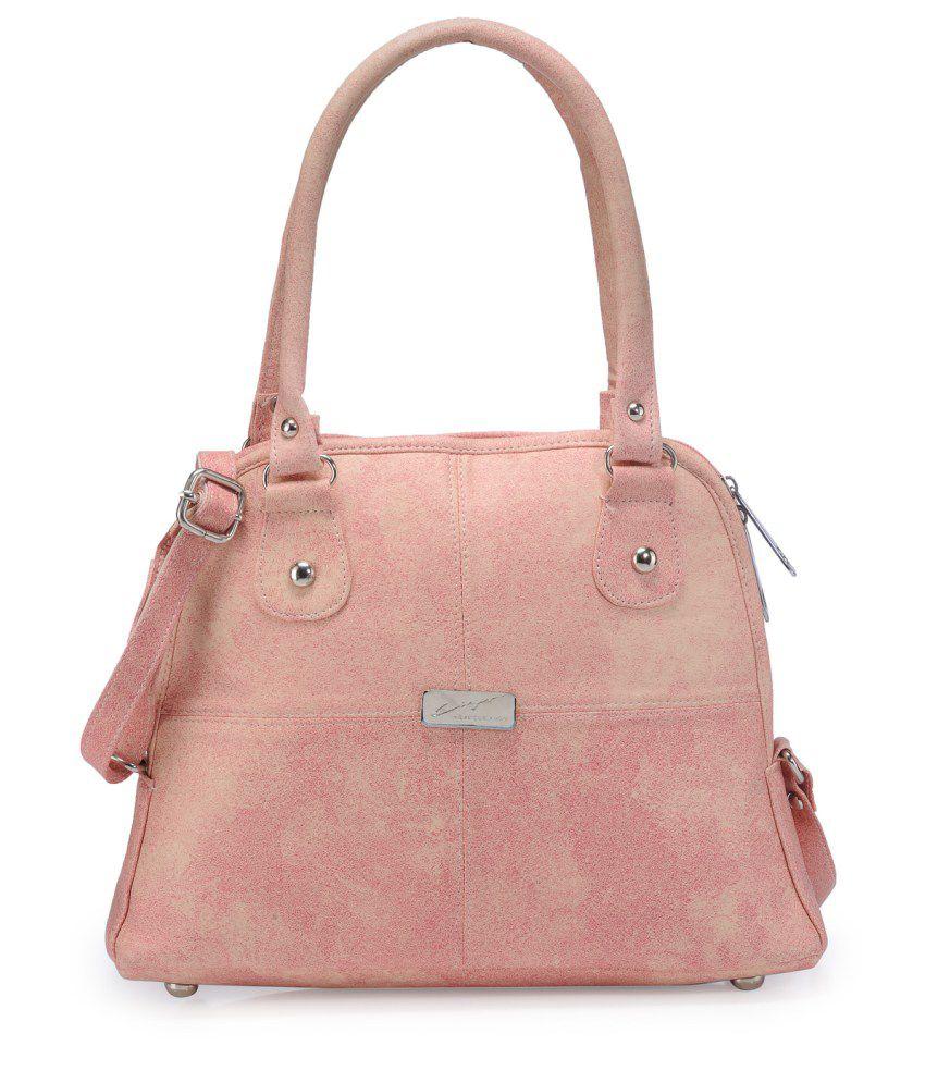 Bags Craze PeachPuff P.U. Shoulder Bag