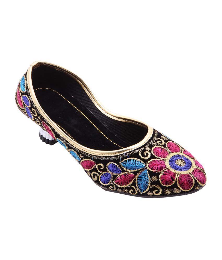 Royal Collection Multicolor Velvet Ethnic Wear
