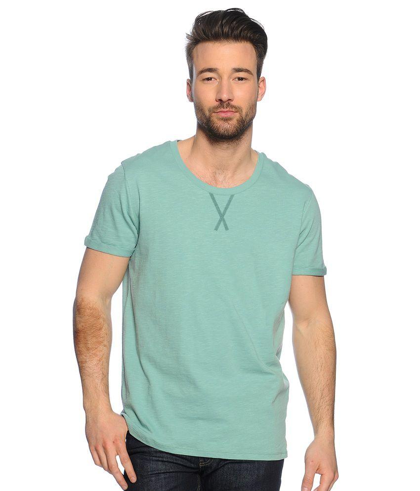 Zachi Green Round T-Shirt Pack of 1