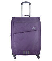Skybags Purple 4 Wheel Trolley 67 Cm