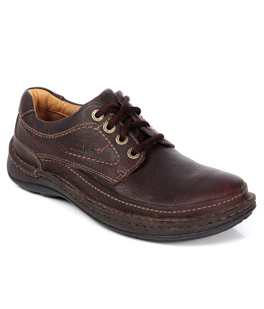 Clarks Nature Three Mahogany Brown Casual Shoes - Buy Clarks Nature Three  Mahogany Brown Casual Shoes Online at Best Prices in India on Snapdeal bfa3db34441
