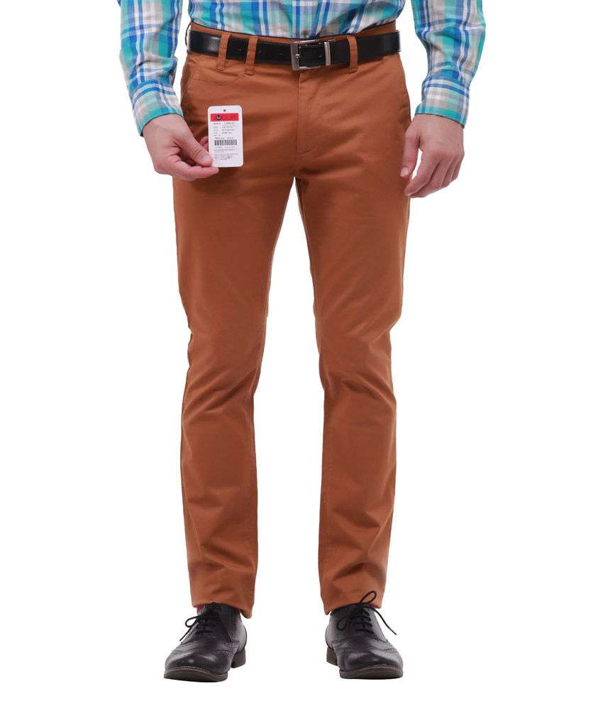 Jogur Trendy Brown Casual Trouser
