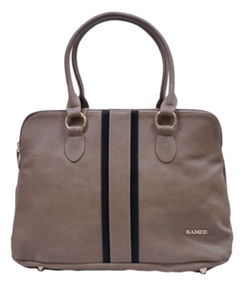 Ramee Brown Shoulder Bag