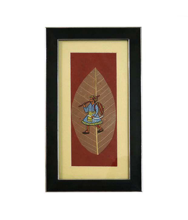 R S Jewels Paper Painting Sainik Designs