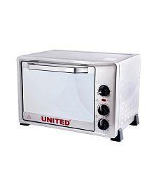 United 36LTR UT-136C OTG Microwave Oven Silver