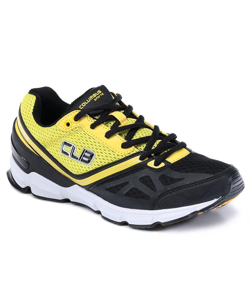 Columbus Team Black Sport Shoes