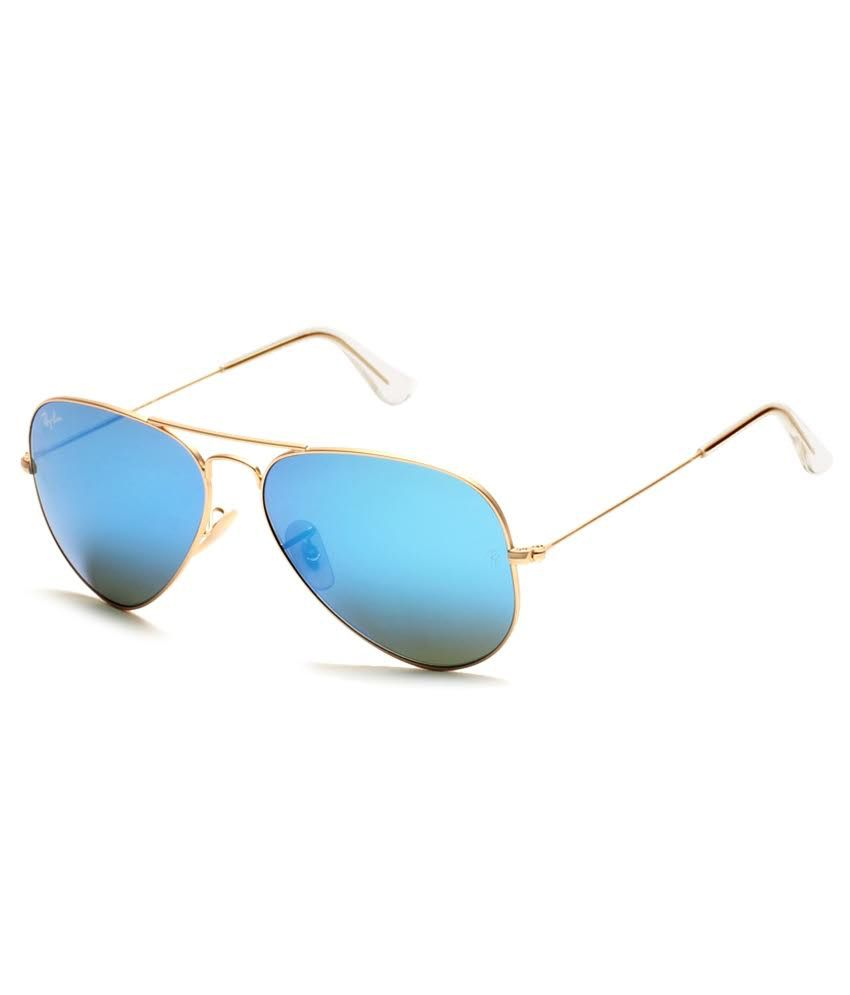 ray ban aviator sunglasses online shopping  ray ban blue aviator sunglasses (rb3025 112/17 58 14)