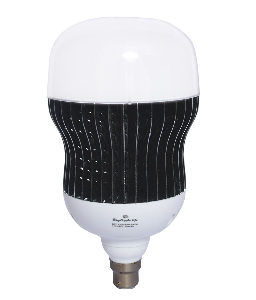 Big Apple Bigapple Led Bulb Cool White Colour 30.00 Watts