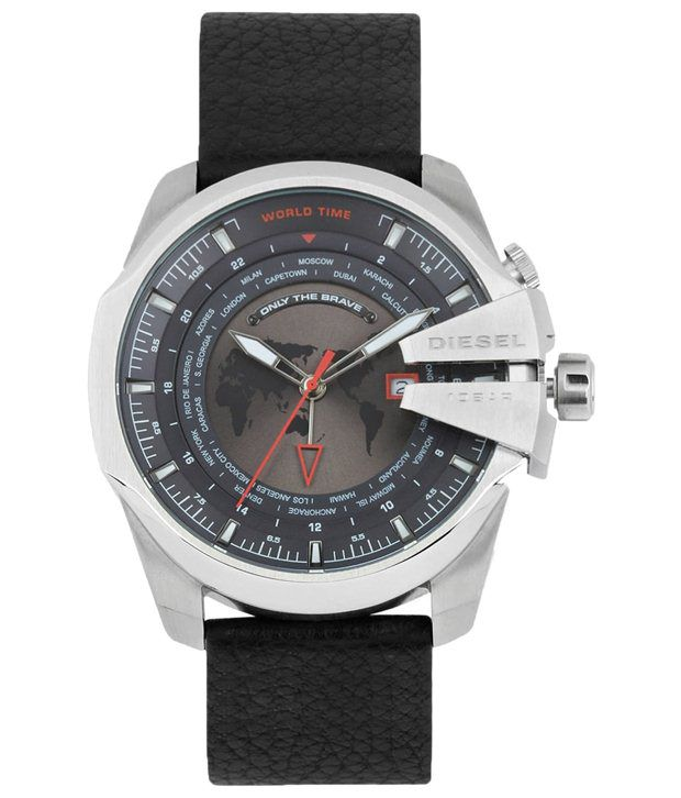 Diesel Black Casual Wrist Watch For Men