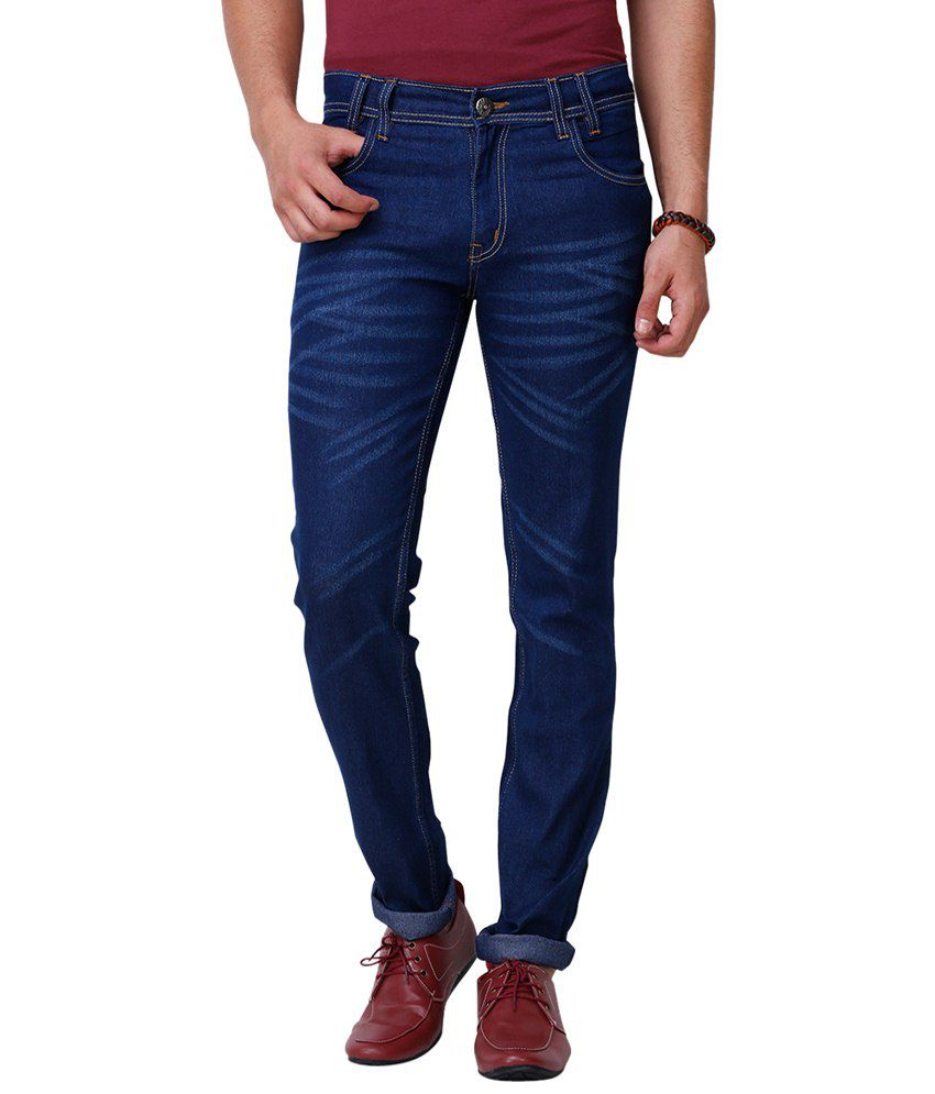 Yepme Dwayne Blue Denim For Men