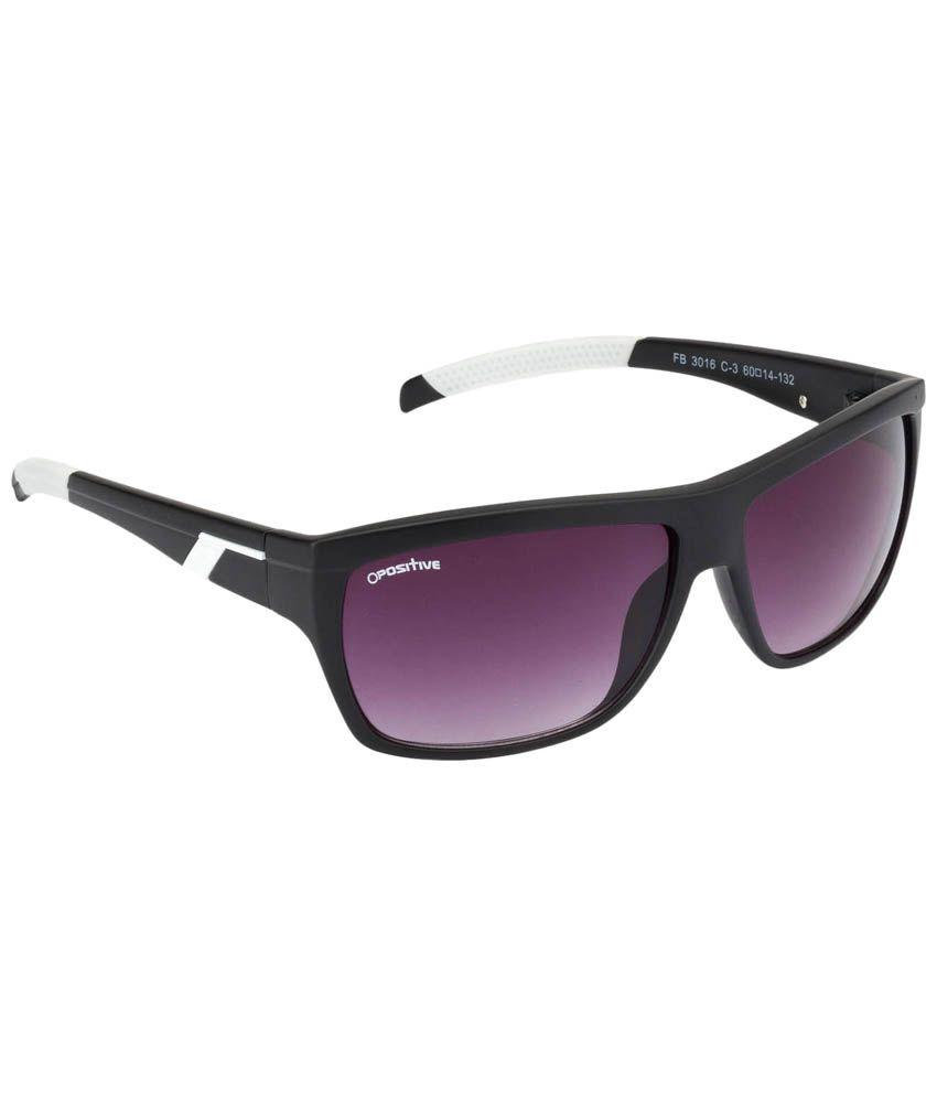 bac031182c09 O Positive Stylish Black & Gray Wrap Around Sunglasses For Men - Buy O  Positive Stylish Black & Gray Wrap Around Sunglasses For Men Online at Low  Price - ...