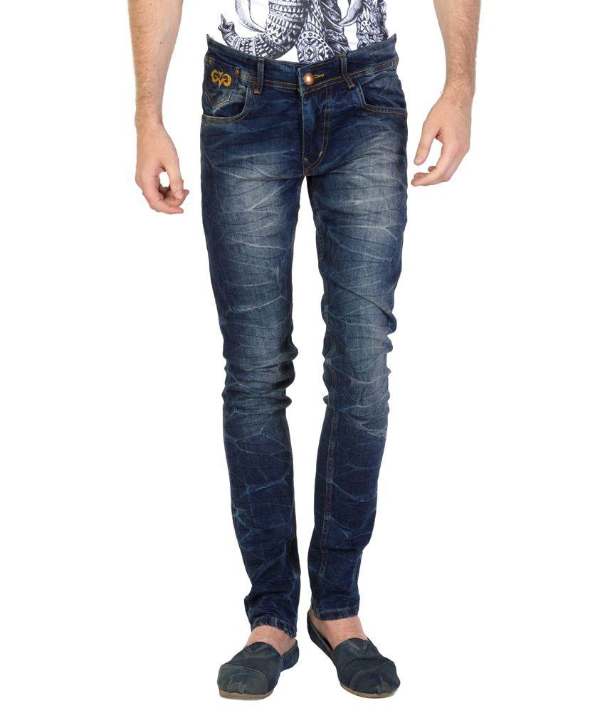Value Shop India Green Slim fit Jeans For Men