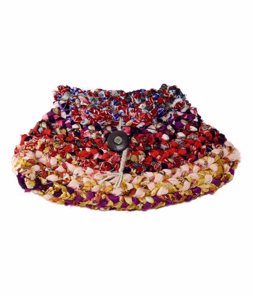 Ixora Bags Goa Braided Beauty Bag