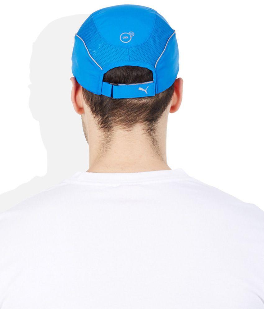 PUMA Blue Cap - Buy Online   Rs.  6ce94227eaa
