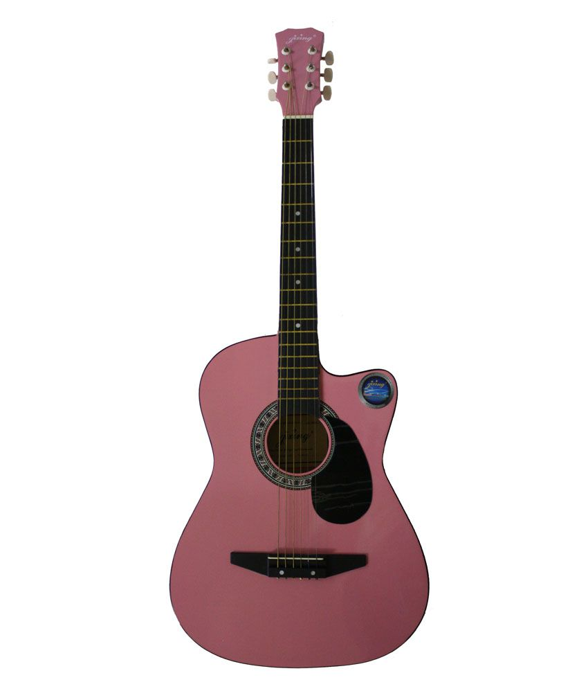 Jixing Pink Acoustic Guitar Buy Jixing Pink Acoustic