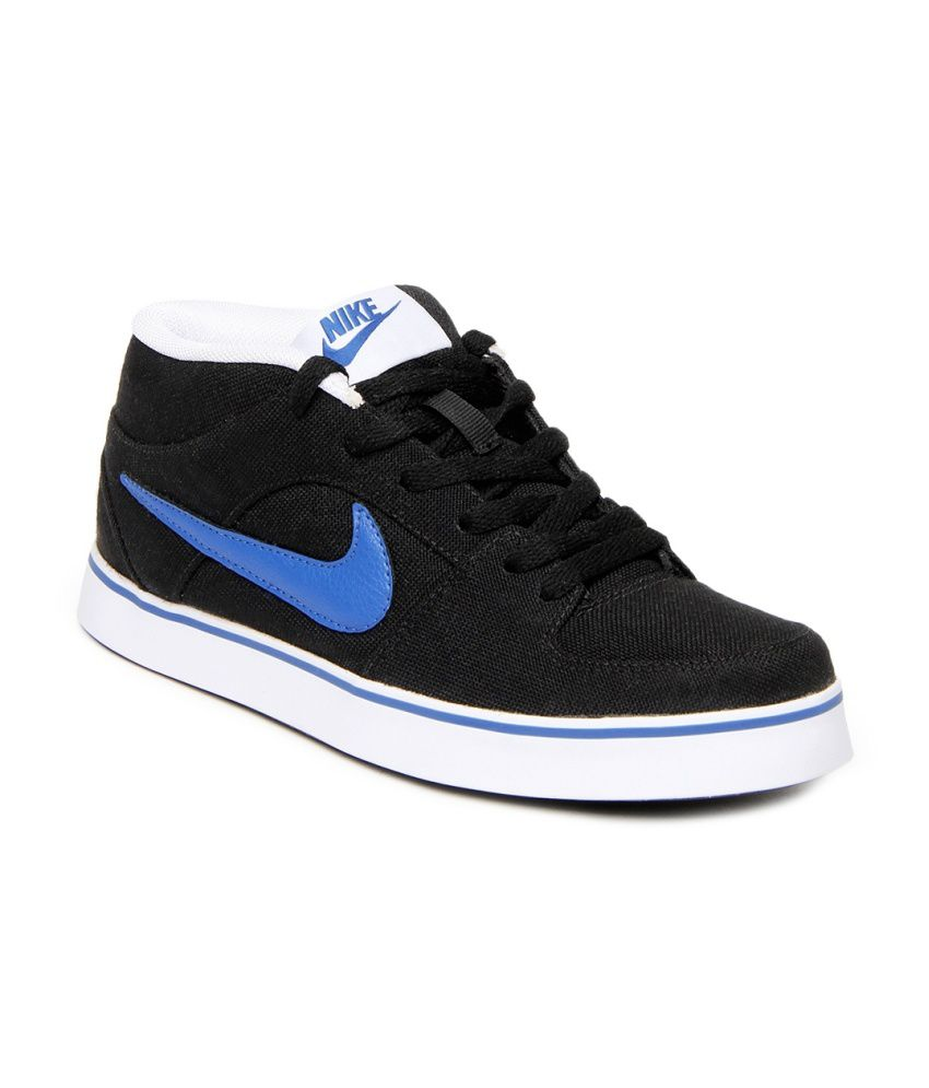 Nike Black Canvas Lifestyle Shoes