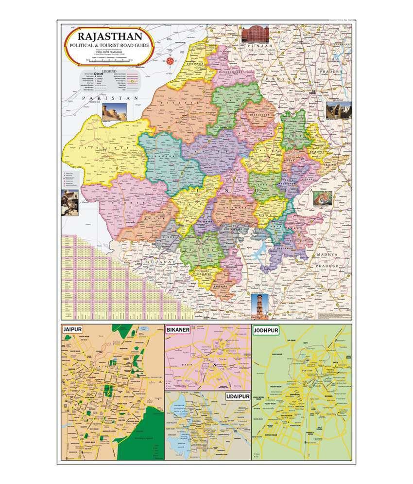 Vidya chitr prakashan rajasthan map buy online at best price in vidya chitr prakashan rajasthan map gumiabroncs Gallery