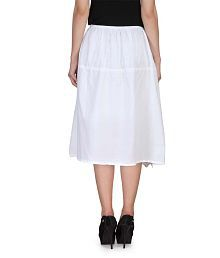 d55aa19df White Color Womens Skirts: Buy White Color Womens Skirts Online at ...