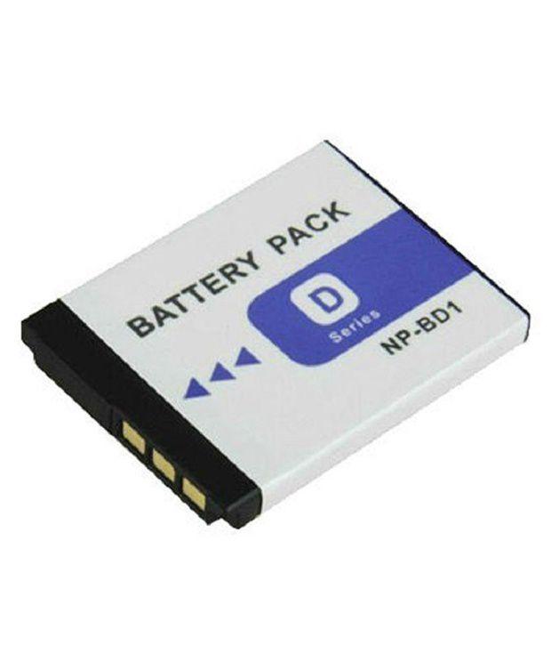 Powerpak NP BD1 Li ion Digital Camera Battery Replaces Sony NP BD1 Battery