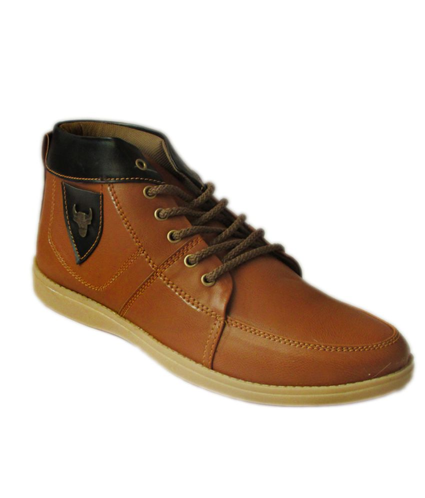 Gartin Tan Stylish Boots