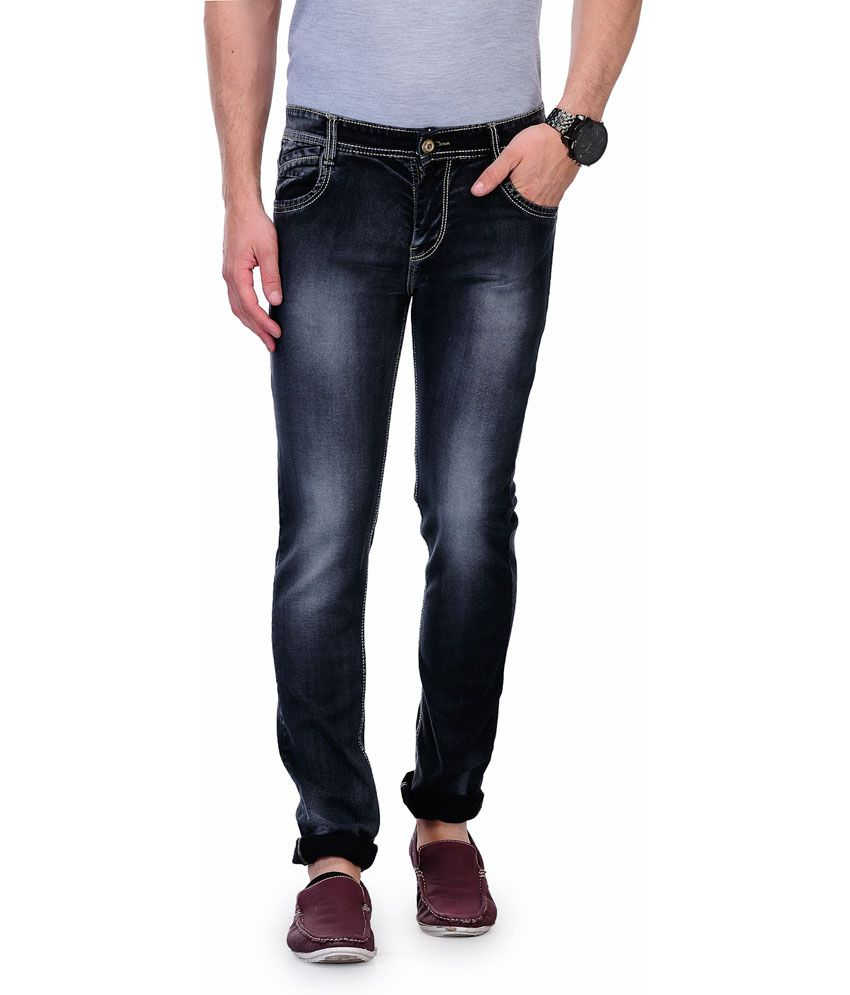 Indiana Black Denim Jeans