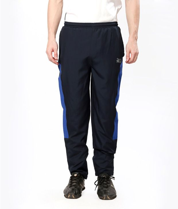 Elligator Navy Blend Running Trackpant