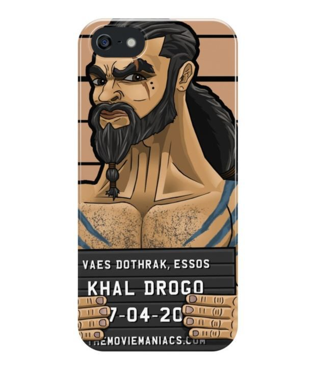 buy popular 59322 f15de The Fappy Store Khal Drogo - Line-up Plastic Back Cover For Apple ...